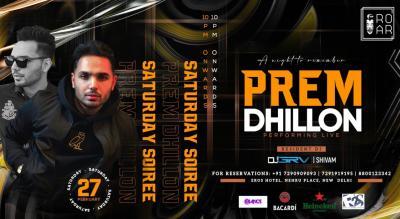 Prem Dhillon Live