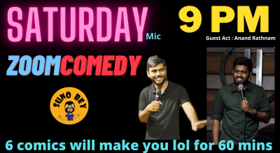 Comedy Nights |A Flat Screen Open Mic by Suno Bey