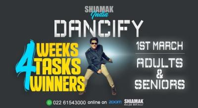 SHIAMAK Dancify - Adults batch