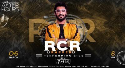 RCR Rapper Performing Live