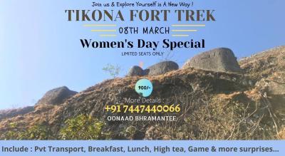 WOMEN'S DAY SPECIAL TIKONA FORT TREK WITH OONAAD BHRAMANTEE