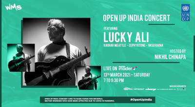 UNDP India presents - Open Up India Concert! Featuring Lucky Ali, Hosted by Nikhil Chinapa