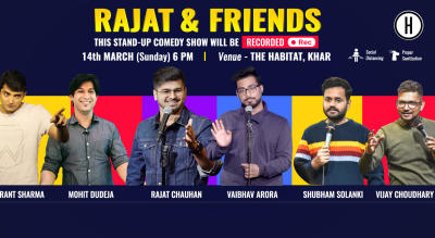 Rajat & Friends (Live & Recording ) - A Stand-Up comedy Show