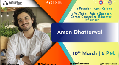 VJTI Technovanza GLS : Aman Dhattarwal