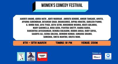 Women's Week Zoom Comedy Festival