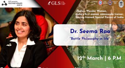 VJTI Technovanza GLS : Dr. Seema Rao
