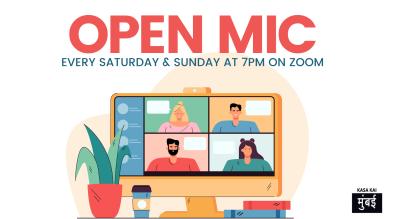 Open Mic With Kasa Kai Every Saturday on Zoom App