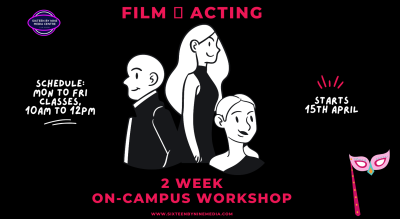 2 Week Film Acting Workshop