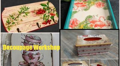 Decoupage art - online tutorial for beginners