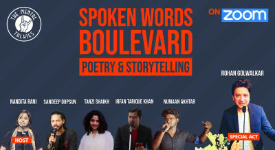 Spoken Words Boulevard-Poetry and Storytelling