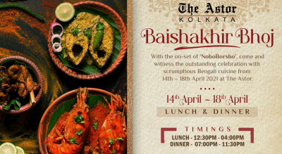 Baishakhir Bhoj @ The Astor, Kolkata