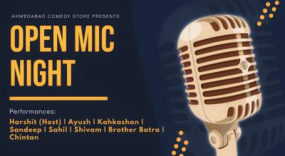 Open Mic Night (Ahemdabad Comedy Store)