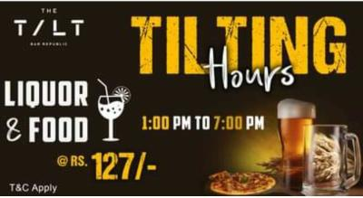 Tilting Hours at TILT Republic Indranagar