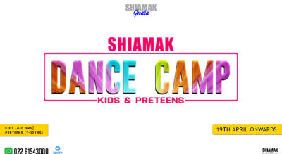 SHIAMAK Dance Camp for Preteens (7-12 years)