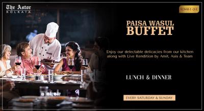 Paisa Wasul Buffet @ The Astor