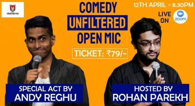 Comedy Unfiltered Open Mic ft. Andy Reghu