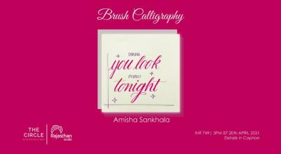 Brush Calligraphy Workshop by Rajasthan Studio