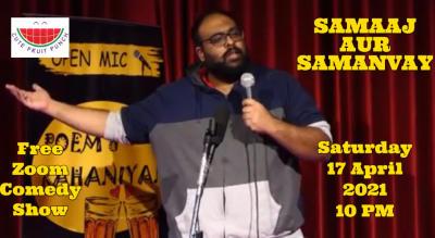 Samaaj Aur Samanvay - Zoom Comedy Show