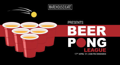 Beer Pong League at WareHouse Cafe (Mohali)