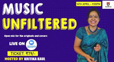Music Unfiltered Open Mic For Covers and Originals ft. Kritika Kaul