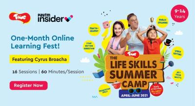 The Life Skills Summer Camp 2021 | One-Month Online Learning Fest