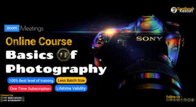 Basics Of Photography - 2 Day Online Course