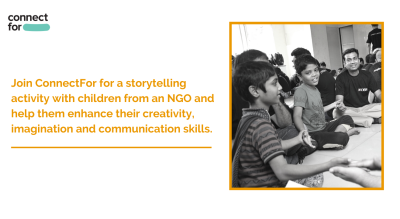 Volunteer to narrate stories to children