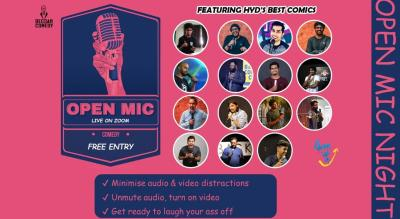 Open mic ft. Hyderabad Comedy Scene