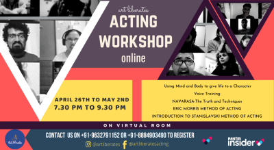 Online Acting Workshop by Art Liberates