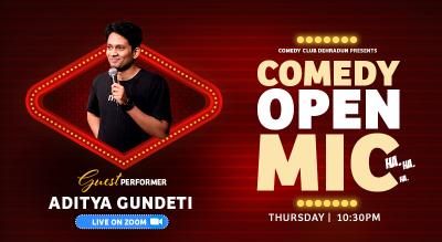 Comedy Club Dehradun Open Mic