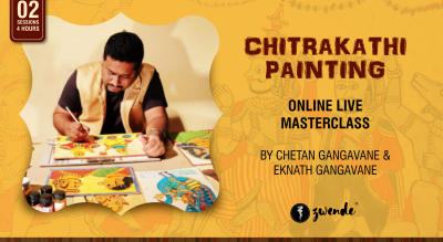 Chitrakathi Painting [Online Live Workshop]