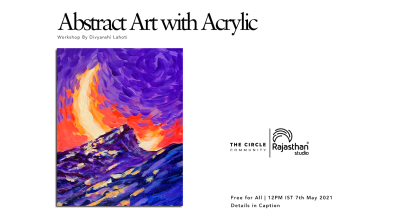 Abstract Art With Acrylic Workshop by The Circle Community