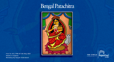 Bengal Patachitra Workshop by The Circle Community