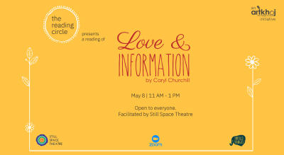 The Reading Circle - Love & Information by Caryl Churchill