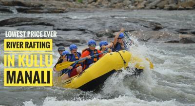 River Rafting in Kullu Manali (The longest)