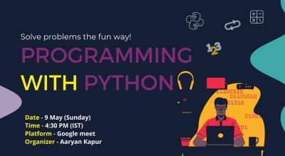Python Basics with Aaryan Kapur!