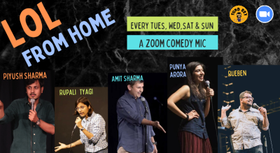 Suno Bey presents LoL from Home |Tue,Wed, Sat & Sunday