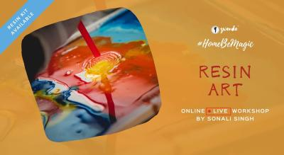Resin Art [Online Live Masterclass - Materials Kit Available]