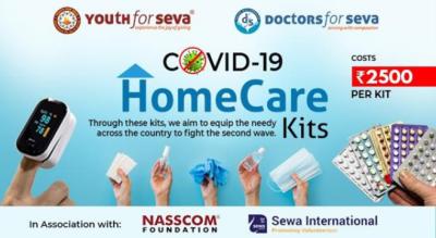 COVID-19 Homecare Kits | Youth for Seva