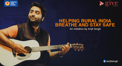 Helping rural India breathe and stay safe, an initiative by Arijit Singh