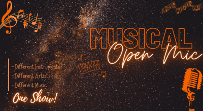 Musical Open Mic - Different Artists , One Show!