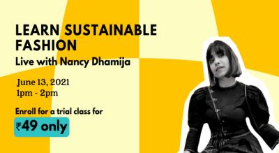 Sustainable Fashion with Nancy x Habbit