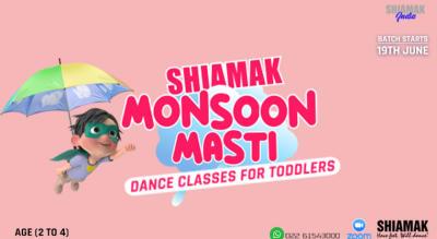SHIAMAK Monsoon Masti for Toddlers (2-4 years)