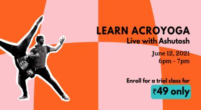 Acroyoga: Fusion of Yoga and Acrobatics with Ashutosh x Habbit