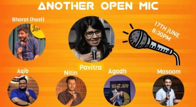Another Open mic by Another Comedy Club with Pavitra Shetty