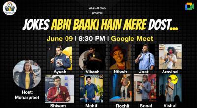 JOKES ABHI BAAKI HAIN MERE DOST- Virtual Comedy Show