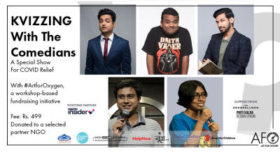 KVIZZING With The Comedians - A Special Show For COVID Relief