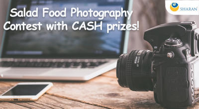 Salad Food Photography Contest with CASH prizes!