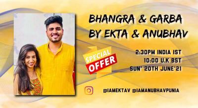 Bhangra & Garba Dance/Fitness Workshop - Online
