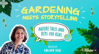 Gardening meets Storytelling - Nature Tales & DIYs for Kids